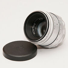 HELIOS 44-2 2/58 Objektiv M42 SILVER SILBER made in USSR 7741851 M42 ZUSTAND 1A