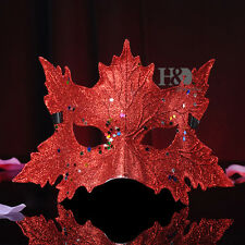 Shining Red Masks Masquerade Costumes Props Halloween Fancy Dress Ball Party Hot