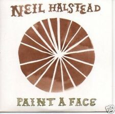(978S) Neil Halstead, Paint A Face - DJ CD