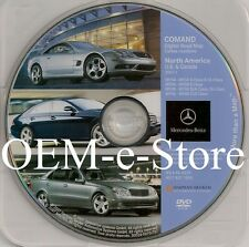 2008 Mercedes Benz E320 E350 4Matic E550 E63 Sport AMG COMAND Navigation DVD Map