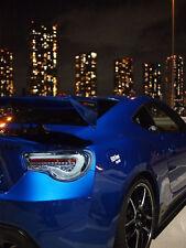 Zero Sports Toyota GT86 Subaru BRZ Scion FRS  Crystal Blue LED Taillights