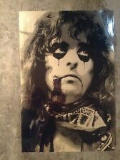 Alice Cooper Chrome Mirrored Poster One of a kind
