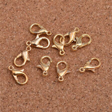 30pcs golden1 DIY Jewelry Findings Lobster Trigger Claw Clasps Connector!