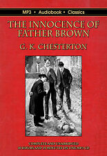 The Innocence of Father Brown - Unabridged MP3 CD Audiobook in DVD case