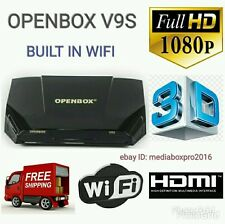 SALE☆OPENBOX V9S SATELITE RECEIVER + 36 MONTHS WARRANTY GIFT PLUG AND PLAY SALE☆