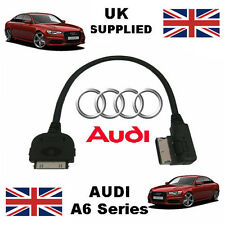 Audi A6 Series 2013 AMI MMI 4f0051510r Iphone Ipod Audio Y Video Usb Cable Rojo