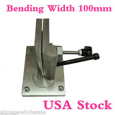 USA Stock-Dual-axis Metal Channel Letter Angle Bender Tools- Bending Width 100mm