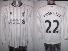 Liverpool MIGNOLET Warrior Adult Small Football Soccer Jersey Shirt Belgium Top