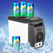6L Portable Car Cooler Warmer Truck Car Electric Refrigerator 12V Travel Fridge