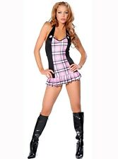 Sexy Adult School Girl Costume - Fancy Dress Cosplay Uniform Outfit C123