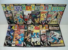 Kickers, Inc. 1-12 COMPLETE SET! 12 Marvel comic books (bd10525)