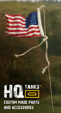 1/16 scale Rc Tank U.S. (48 Stars WWII era) Aerial Flag for Heng Long / Tamiya