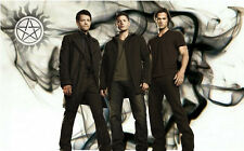 "Supernatural - US TV Show Season Art Fabric poster 21"" x 13"" Decor 095"