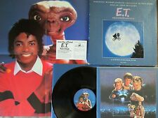 MICHAEL JACKSON E.T. USA LP BOX w/Poster+Picture Label+Booklet+Flyer MCA71000