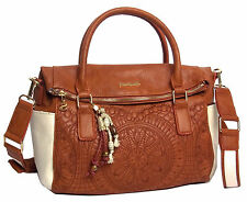 sac desigual loverty sonora 72x9wb2/6049 ecru camel   NEWS 2017