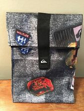 NEW Quiksilver School Bag Lunch Cooler Tote Insulated Box Multi-Color HI