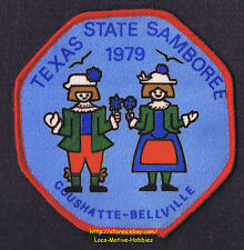 LMH Patch  1979 GOOD SAM CLUB SAMBOREE Rally  Coushatte Bellville STATE TX Ranch