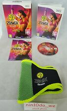 Zumba Fitness +Belt -BIG BOX (Wii) -Dancing Fun Exercise+Fitness Game=NEAR MINT✔