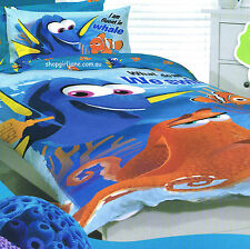 Finding Dory Nemo - Fluent in Whale - Single/US Twin Bed Quilt Doona Duvet Cover