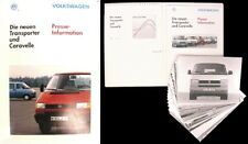VW Bus T4 - Pressemappe - September 1990