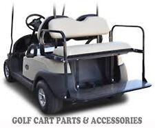 Club Car Precedent Golf Cart Rear Flip Seat Kit (2004-UP)  *BUFF SEAT CUSHIONS*