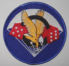 WWII WW2 506th 506 PIR PARA-DICE PATCH 101ST AIRBORNE DIVISION BAND OF BROTHERS