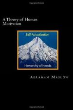 A Theory of Human Motivation by Abraham Maslow (2013, Paperback)