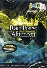 Living Art RAIN FOREST AFTERNOON: VIRTUAL RELAXATION w/ NATURAL SOUNDS & MUSIC!