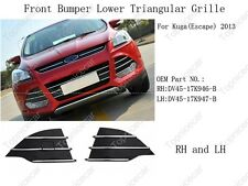 Replacement Front Bumper Grille Covers For Ford Escape Kuga 2013-2016