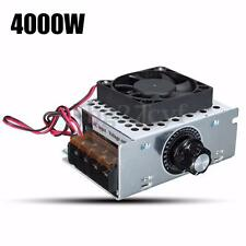 Electric AC 220V 4000W SCR Voltage Regulator Motor Speed Control Controller Fan