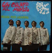 I Beati Un Colore Al Mondo/Addio Per Sempre  45 giri Messa Beat EX-/EX 1968