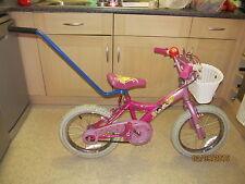 Bike Bicycle Kids Balance Buddy Training Safety Handle Stabiliser Blue