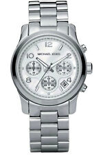 Michael Kors Ladies' Runway Chronograph Mother of Pearl Designer Watch MK5304