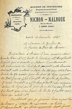 45 LORRIS COURRIER NICHON MALNOUE MAGASIN DE CHAUSSURES 1929