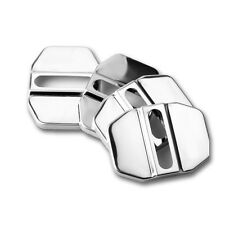 4pcs SUV Decorative Steel Accessory Stainless Door Cover Lock Protective Cap New