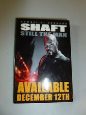 December 12 2000 Shaft Movie Pin Back Button Samuel Jackson Still The Man Promo