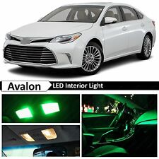17x Green LED Lights Interior Package Kit for 2013-2016 Toyota Avalon + TOOL