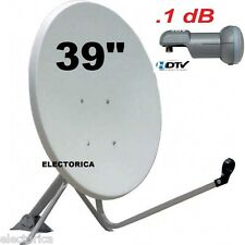 "39"" KU BAND SATELLITE DISH ANTENNA + FTA FREE TO AIR LNB CHINESE PERSIAN 97 W 36"