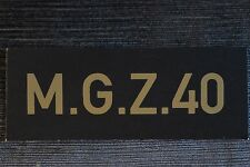 2X *STENCIL SET* FOR WW2 WWII GERMAN OPTICAL SIGHT BOX MG34 & MG42