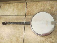 vintage washburn banjo Style E with case