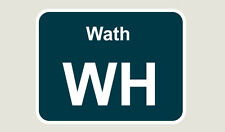 1x Wath Train Depot Sticker/Decal 100 x 77mm