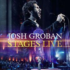 JOSH GROBAN : STAGES LIVE + DVD (CD) sealed