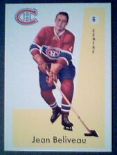JEAN BELIVEAU  1959-60 LIMITED EDITION PARKHURST REPRINT CARD No.6