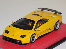 1/43 Looksmart Lamborghini Diablo GT Ginevra in Metallic Yellow Leather Base