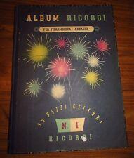 Album Ricordi per fisarmonica Anzaghi