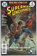SUPERMAN UNCHAINED #4 1:50 GARCIA-LOPEZ VARIANT SNYDER LEE 75TH ACTION DC COMIC