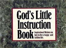 G, God's Little Instruction Book: Inspirational Wisdom on How to Live a Happy an