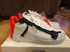 Nike Lunar Force 1 SP / Acronym White Bright Crimson 698699 116 Size 11