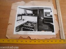 1960s Viking 37' stove kitchen boating yacht advertising photo w/articles