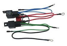 NEW WIRING HARNESS CONVERT 3 WIRE TILT TRIM MOTOR TO 2 WIRE 30 AMP FUSE 2 RELAYS